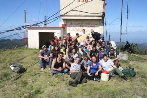Mal Nombre en el Pico San Juan.